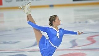 Юлия Липницкая. Чемпионат России по фигурному катанию 2016.