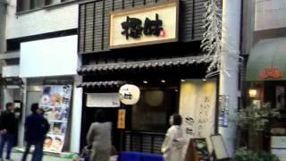 鹿児島天文館アーケード商店街と中央駅グルメストリート