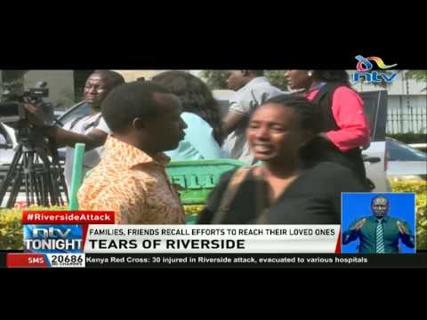 Grief overcomes the bereaved as they deal with Riverside horror
