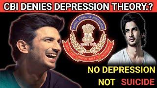 Cbi Has Denied Depression Theory In Sushant Singh Rajput Case? Major Update Sushant Singh Rajput