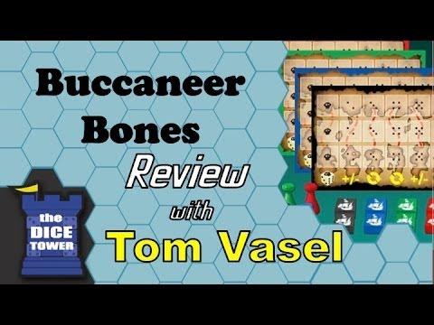 Dice Tower Reviews: Buccaneer Bones