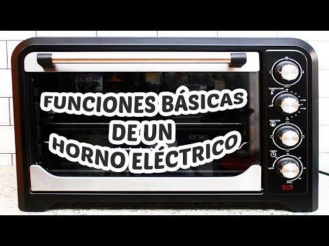 Funciones Básicas de un Horno Eléctrico / Cositaz Ricaz