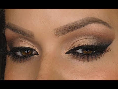 Neutral Smokey Eye With A Diffused Winged Liner   Makeup Tutorial   Shonagh Scott   ShowMe MakeUp
