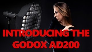 Godox AD200 Pocket Flash Speedlite and X1T-C TTL HSS Wireless Flash Trigger Transmitter For Canon