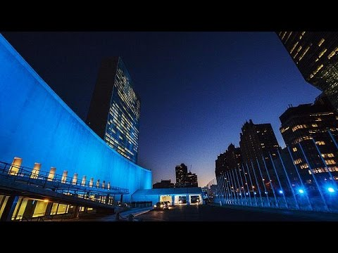 70 Χρόνια ΟΗΕ: Η πολιτιστική μας κληρονομιά «ντύνεται» στα μπλε