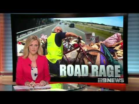 Channel Nine News - Road Debris story 2013-01-27