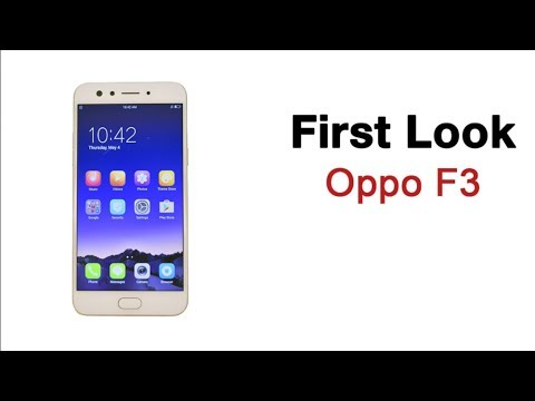 Oppo F3 First Look