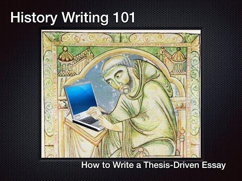 Writing documented essay