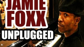 Jamie Foxx Live Unplugged performance in Hotel Lobby in Cannes, France - August 14, 2012