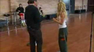 Ashley Tisdale And Zac Efron- You Are The Music In Me (Reprise) Rehearsals