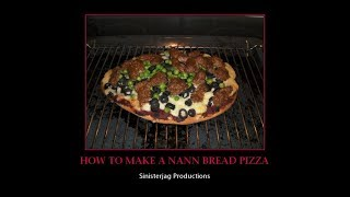 HOW TO MAKE NAAN BREAD PIZZA