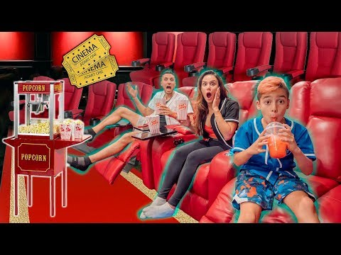 We Turned Our BEDROOM Into A MOVIE THEATRE! (YOU WON'T BELIEVE IT!)   The Royalty Family