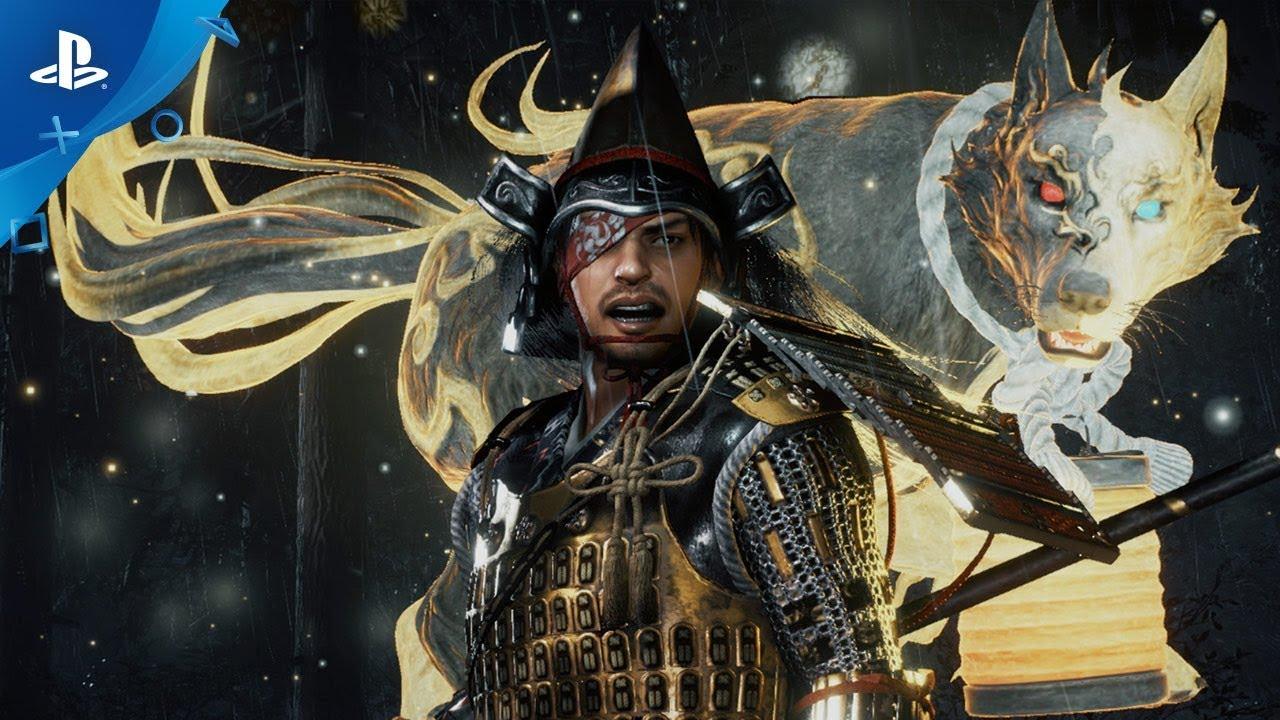 Los Yokai Míticos Abundan en el Nuevo Tráiler de Nioh 2