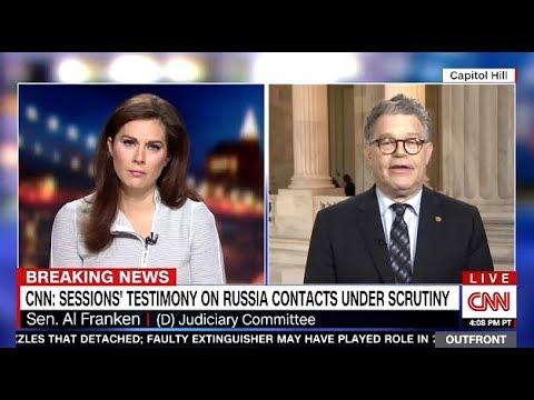 Al Franken - Discusses Mueller Closing In On Kushner & Sessions
