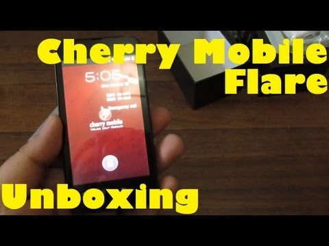 Cherry Mobile Flare Unboxing - Dual-Core 1.2Ghz, Dual SIM 3G, Android 4.0 Phone For Only PHP 3,999