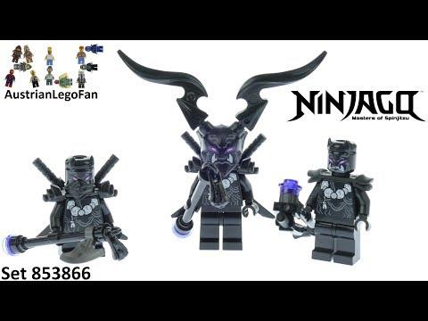 Vidéo LEGO Ninjago 853866 : Ensemble d'accessoires LEGO Ninjago