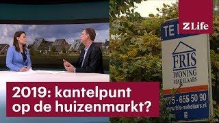 De huizenmarkt stabiliseert. 'Echte prijsstijgingen zijn er wel uit' - RTL Z NIEUWS