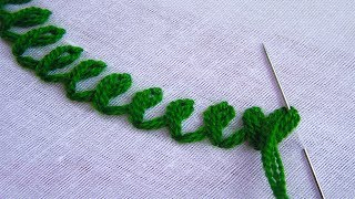 Basic Hand Embroidery Stitches; Step By Step Tutorial; Part 15