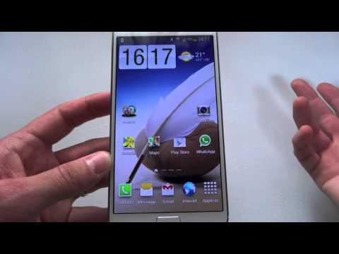 Galaxy Note 3 Unboxing, video preview e prime impressioni