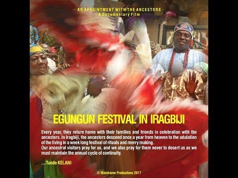 Egúngún Festival in Irágbijí, Full Movie.