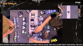 Pro Tour Magic 2015 - Round 9 (Draft) – Jon Finkel vs. Bob Maher