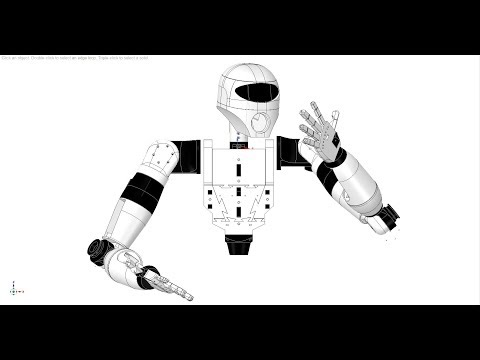 Humanoid Robotic Hand By Grossrc