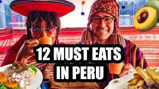 12 FOODS YOU HAVE TO TRY IN LIMA & CUSCO PERU   Peru Travel Vlog