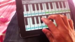 Lakshya - Title Track - Piano - IPAD
