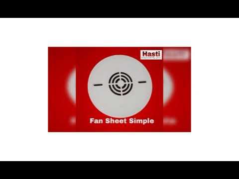 Fan Plate Simple
