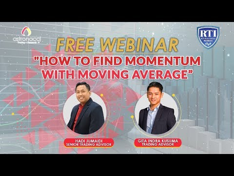 HOW TO FIND MOMENTUM WITH MOVING AVERAGE