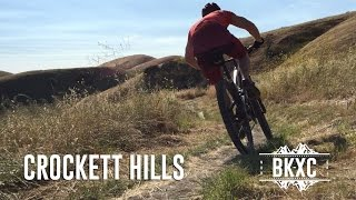 The secret is out. Crockett Hills is one of the best mountain biking destinations in the East Bay.