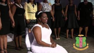 AKA Wedding Serenade (Soror Scharona Grimsley-Dawkins)