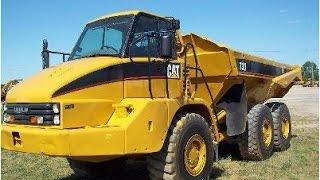 730 Cat® Rock Truck Demostration