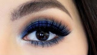 3 Min Blue Smokey Eye Tutorial
