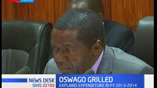 Former IEBC CEO James Oswago grilled by Parliamentary Public Accounts Committee