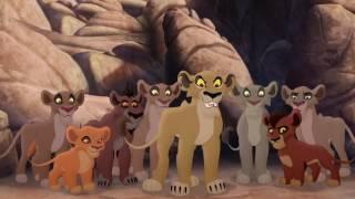 Lion Guard: Lions Of The Outlands Ending - Kion VS Zira & The Outsiders! HD Clip