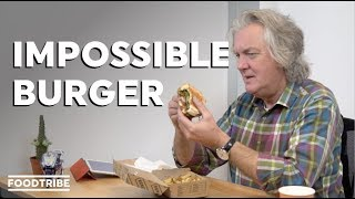 Have you ever wanted to watch James May eat an entire burger on camera? Today's your lucky day. Captain Slow is back to try the plant-based Impossible burger, to see if the experience lives up to a hangover-curing dirty cheeseburger.  Read more from James here: http://bit.ly/2q93Gqm   Subscribe to the FoodTribe YouTube channel: http://bit.ly/2k2Zmpt  Get the FoodTribe App:  IOS: https://apple.co/2m1DITg Android: http://bit.ly/2m3gKeq  Follow FoodTribe: https://twitter.com/foodtrb https://facebook.com/foodtribes https://www.instagram.com/foodtrb/