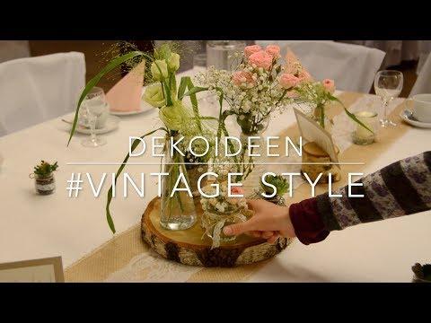 Hochzeitszauber Deko Vintagestyle   wie man eine festliche Stimmung schafft   Geschenk für Gäste