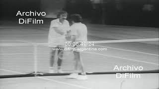 John Newcombe Vs Tom Gorman - Rod Laver Vs Stan Smith - Copa Davis 1973