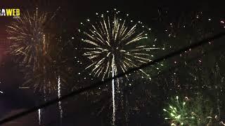 Fuegos artificiales de Nochevieja Madeira 2020/2021