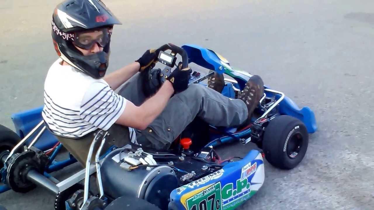 Il go-kart più veloce del mondo, da 0 a 100 km/h in 2,5 secondi