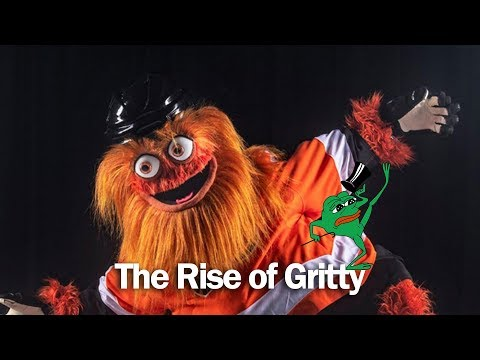The Rise of Gritty (and the fall of Pepe the Frog) - 2018