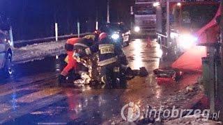 preview picture of video 'Brzeg: Kierowca BMW potrącił dwie osoby na przejściu dla pieszych'