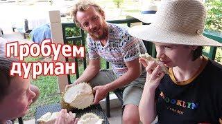 VLOG: Встретились с местными, пробуем дуриан