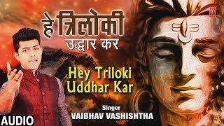 हे त्रिलोकी उद्धार कर Hey Triloki Uddhar Kar I New Shiv Bhajan I VAIBHAV VASHISHTHA, Full Audio Song