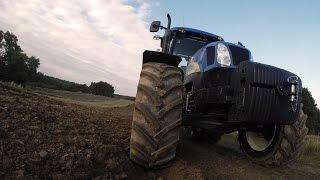 Oczami Traktorzysty New Holland T6030 Elite #2 Podorywka
