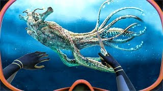 THIS MONSTER LIVES ON THE BOTTOM OF THE SEA! (Subnautica)