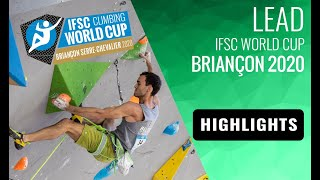 IFSC Climbing World Cup Briançon 2020 - Lead Finals Highlights by International Federation of Sport Climbing