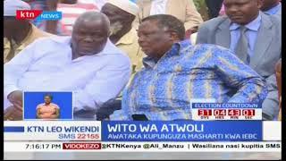 Wito wa Francis Atwoli : Amuomba Raila Odinga kulegeza kamba kwa masharti dhidi ya IEBC