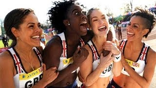 FAST GIRLS Trailer (Sport Drama - RUNNING)